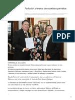 15-08-2018-Realiza Claudia Pavlovich Primeros Dos Cambios Previstos en Su Gabinete- El imparcial