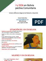 VIH en Bolivia, Perspectiva Comunitaria