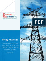 Policy Analysis Impact on Corporate Tax Cut Bill - From US Chamber of Commerce