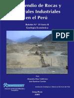 Compendio de Rocas y Minerales Industriales Del Perú; 2009