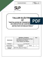 Taller de Electricidad 7