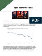 Turquia Colapso Economico Total
