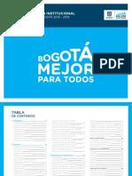 Manual de Identidad Bogota Mejor Para Todos