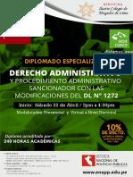 Brochure IV - Derecho Administrativo - Sede Cusco - Enapp