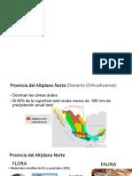 Provincias de Mexico