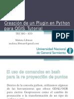 Python y QGIS