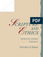 Siker - Scripture and Ethics; Twentieth-Century Portraits (1997)