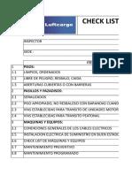 Check List - SST.