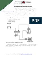 Manual de Usuario Del Tablero Interactivo