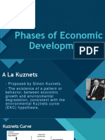 Phases of Economic Development