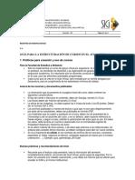Guía Estructuración de  Cursos para Docentes UPTC en Moodle