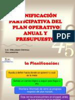 2.- Planificacion Participativa Del POA