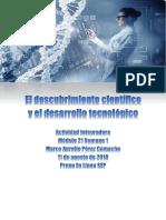 PerezCamacho MarcoAurelio M21S1AI1 Descubrimientocientificoydesarrollotecnologico
