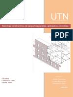 TPF Prefabricación - Sistemas constructivos de pequeños paneles aplicados a viviendas