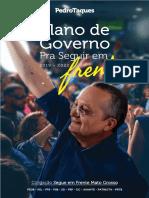 Plano de Governo Pedro Taques 2018 Mato Grosso