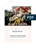 ISLAM O EUROPA (agosto 2017)
