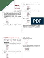 Reglas de Ortografía Español