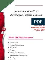 Ppt Hindustan Coca Cola Beverages Pvt. Ltd