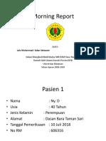 Morning Report 1 - L M Sabar Setiawan.ppt