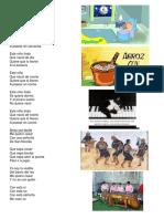 Albun de Canciones Populares Guatemaltecas Con Ilustracion