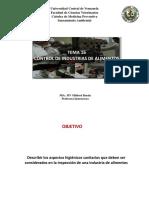 Normas Sanitarias de La Calidad de Agua Potable VENEZUELA