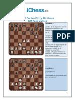 Puzzles - 1e4 Contra Pirc y Similares