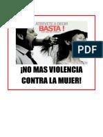 No Mas Violencia Contra La Mujer