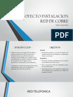 Proyecto Instalacion Red de Cobre
