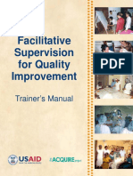 Facilitative Supervision for Quality Improvement