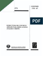 2 COVENIN ESTRUCTURA CONCRETO 1753-1987.pdf