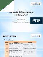 2 Cableado Estructurado y Certificación introduccion