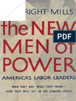C. Wright Mills, Helen Schneider-The New Men of Power_ America's Labor Leaders-Harcourt, Brace and Company (1948)