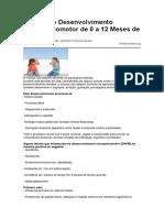 Marcos Do Desenvolvimento Neuropsicomotor de 0 a 12 Meses de Vida