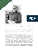 Husserl La Fenomenología