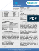 Ficha Tecnica Biosure Fp