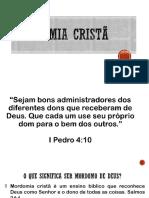 Semana 10 - Mordomia Cristã