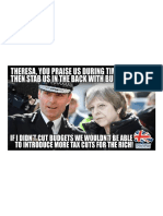 Theresa May Has Been Accused of 'Stabbing the Police in the Back'