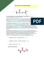 Grupo Protector Terc-Butiloxicarbonilo