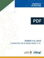 Cuadernillo de Pruebas Saber 111
