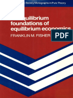 (Econometric Society Monographs) Franklin M. Fisher-Disequilibrium Foundations of Equilibrium Economics-Cambridge University Press (1983)
