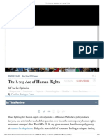 The Case for Optimism on Human Rights