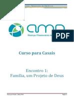 Encontro 1 Familia Um Projeto de Deus