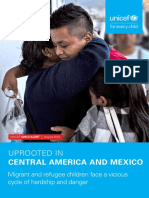 UNICEF Child Alert 2018 Central America and Mexico