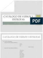 Catálogo de Versos y Estrofas