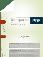 Trasportes Cuchupil Presentacion 2