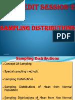 Credit Session 2 Sampling Distribution