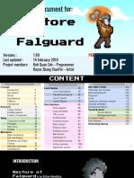 restore of falguard gdd ppt