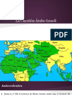 La Cuestión Árabe-Israelí
