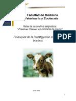 Practicas clinicas en animales domesticos
