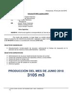 Informe Logistica - Junio 2018